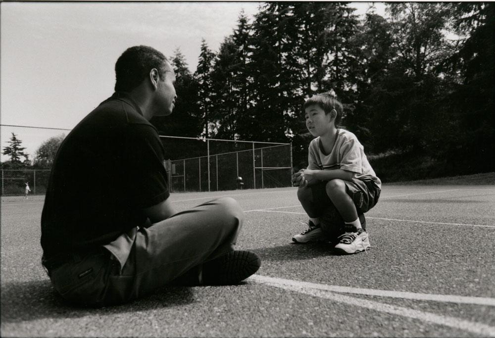 Advocate and child